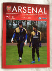 OFFICIAL Arsenal vs Chelsea Matchday Programme