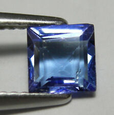 BRILLANTE TANZANITE NATURALE INTRATTATA  IN BLISTER CT. 0,95 VS VVS PRINCESS