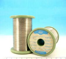 100ft / 30m NICHROME Nikrothal  44AWG  0.05mm  583 Ω/m  177 Ω/ft Resistance WIRE