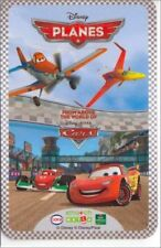 8 cartes bleu DISNEY Cora / Match PLANES & CARS