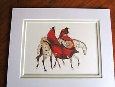 """The Loss Carol Grigg - 8x10"""" Double Matted - New"""