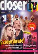 CLOSER MAGAZINE 26 MAR 2005 . CONTAINS DOCTOR WHO TV GUIDE FRONT COVER