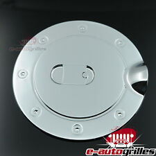 Triple Chrome Plated ABS Fuel Gas Cap Door Cover for 02-08 Dodge Ram 1500