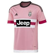 New Mens Adidas Juventus Pink Away Football Soccer Shirt Jersey Drake M Medium