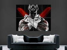 CM PUNK WWE WRESTLING USA   GIANT LARGE WALL ART POSTER PICTURE BIG