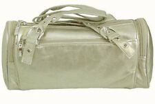 Ladies Women's Girls Silver Shoulder Hand bag Handbag Small Barrell * CLEARANCE