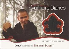 """Vampire Diaries Season 2 - M18 Bryton James """"Luka"""" Wardrobe Card"""