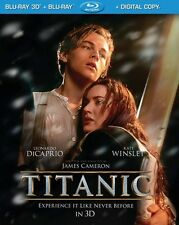 Titanic in 3D [Includes Digital Copy] [UltraViolet] [3D/2D] [Blu-ray NEW]