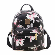 Womens Kids Floral Mini Small Backpack Casual Shoulder Bags Rucksack Boho Bags
