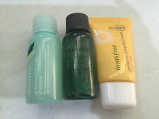 Innisfree Shampoo Body Wash Sun Cream Miniature Trial Set