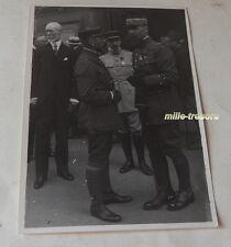 PHOTOGRAPHIE du Général Henri Joseph Eugène GOURAUD lors d'une cérémonie