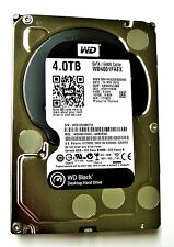 "Western Digital Black 4TB Internal Hard Drive 3.5"" WD4001FAEX HDD GREAT HEA"