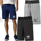 Adidas Original Mens 3 Stripes Essential Shorts Casual Mens Fleece Shorts