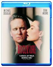 Blu Ray  DISCLOSURE Michael Douglas, Demi Moore. UK compatible. New sealed.