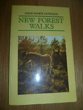 New Forest Walks By Ann-Marie Edwards Paper Back Book 1991 Countryside Books