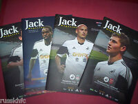 2013/14 - SWANSEA HOME PROGRAMMES CHOOSE FROM