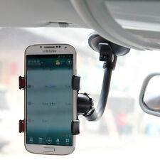 For iPhone Samsung HTC Universal Phone Car Wind Screen Mount Holder Cradle Stand
