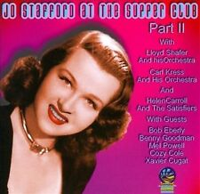 Live At The Supper Club, Pt. 2 by Jo Stafford (CD, Feb-2011, Sounds of...
