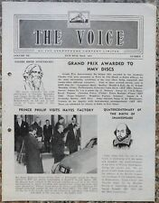 India THE VOICE May 1964 HMV Magazine - Gurudev Rabindranath Tagore