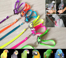 Adjustable Parrot/Bird Harness Multicolor Free P&P