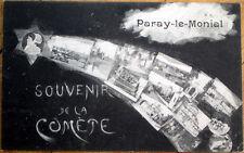 1910 France Postcard: Multiple Veiws, Souvenir De La Comete, Paray-le-Monial