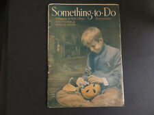 Antique October Issue 1915 Something To Do Magazine for Boys and Girls Halloween