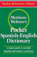 Merriam Webster's Pocket Spanish-English Dictionary, Merriam-Webster