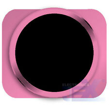 Black With Pink Trim iPhone 5S Style Look/Looking Home button for iPhone 5/5C