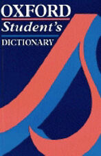 Oxford Student's Dictionary,