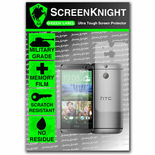 ScreenKnight HTC One M8 FULL BODY SCREEN PROTECTOR invisible Military shield