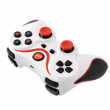 Wireless Bluetooth Game Gamepad Controller White+Red For IPhone Samsung PC