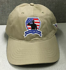 Salute the Brave Support Troops Military Heroes Texas Longhorn Baseball Hat Cap