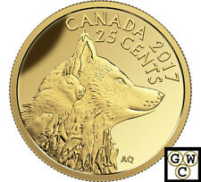 2017 Inuit Arctic Fox-Predator vs.Prey Prf 25ct Gold Coin .9999 Fine(NT)(17763)