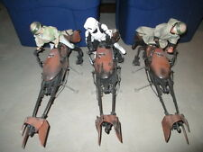 "Star Wars 1:6 scale 12"" SPEEDER BIKE & FIGURE LOT of 3 Hasbro Leia Luke Scout"