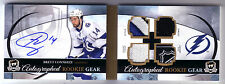 11/12 UD THE CUP BRETT CONNOLLY ROOKIE GEAR BOOKLET NHL SHIELD  ROOKIE AUTO /25