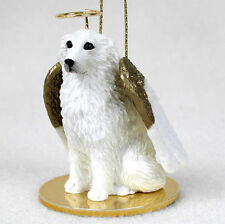 Great Pyrenees Dog Figurine Angel Statue