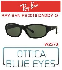 Occhiali da Sole RAYBAN RB2016 DADDY-O Sunglasses Ray Ban Sonnenbrillen BLACK