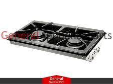 Jenn-Air Designer Line Gas Cooktop Black Two Burner Cartridge JGA8100ADB