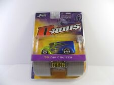 JADA D-RODS '39 DIV CRUIZER MINT ON BUBBLE CARD 1:64