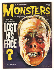 Famous Monsters of Filmland #16 Man Who Lost his Face Lon Chaney (4.0) 1962