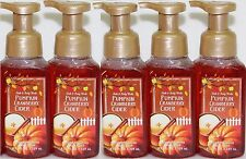 5 Bath & Body Works PUMPKIN CRANBERRY CIDER Gentle Foaming Hand Soap