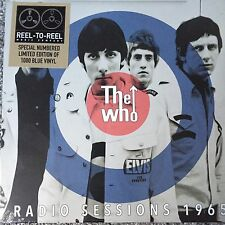 THE WHO 'RADIO SESSIONS 1965' LTD NEW NUMBERED BLUE VINYL LP NEW SEALED