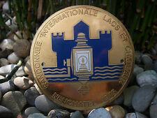 RANDONEE INTERNATIONAL NEUCHATEL SCHWEIZ SWITZERLAND Plakette Car Badge