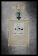 FRAMED Chanel No 5 36x24 Art Print Poster MADE IN THE USA