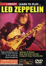 Lick Library Learn To Play Led Zeppelin Escalera Al Cielo tutor Guitarra Dvd
