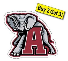 Alabama Crimson Tide College Football SEC Car Sticker Decal FREE SHIPPING A1