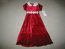 "NEW ""Ivory Bows"" Velvet Dress Girls Winter Clothes 5 Christmas Boutique Holiday"