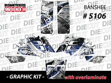 *NEW* RACING ATV QUAD BANSHEE COMPLETE GRAPHICS KIT STICKERS 350 5106