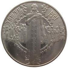 """UKRAINE  5 HRYVNI - """" CHRISTIANSIERUNG"""" - 2000 (UNC)"""