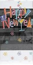 """New Years Eve """"Happy New Year"""" Countdown Printed Plastic Tablecover"""